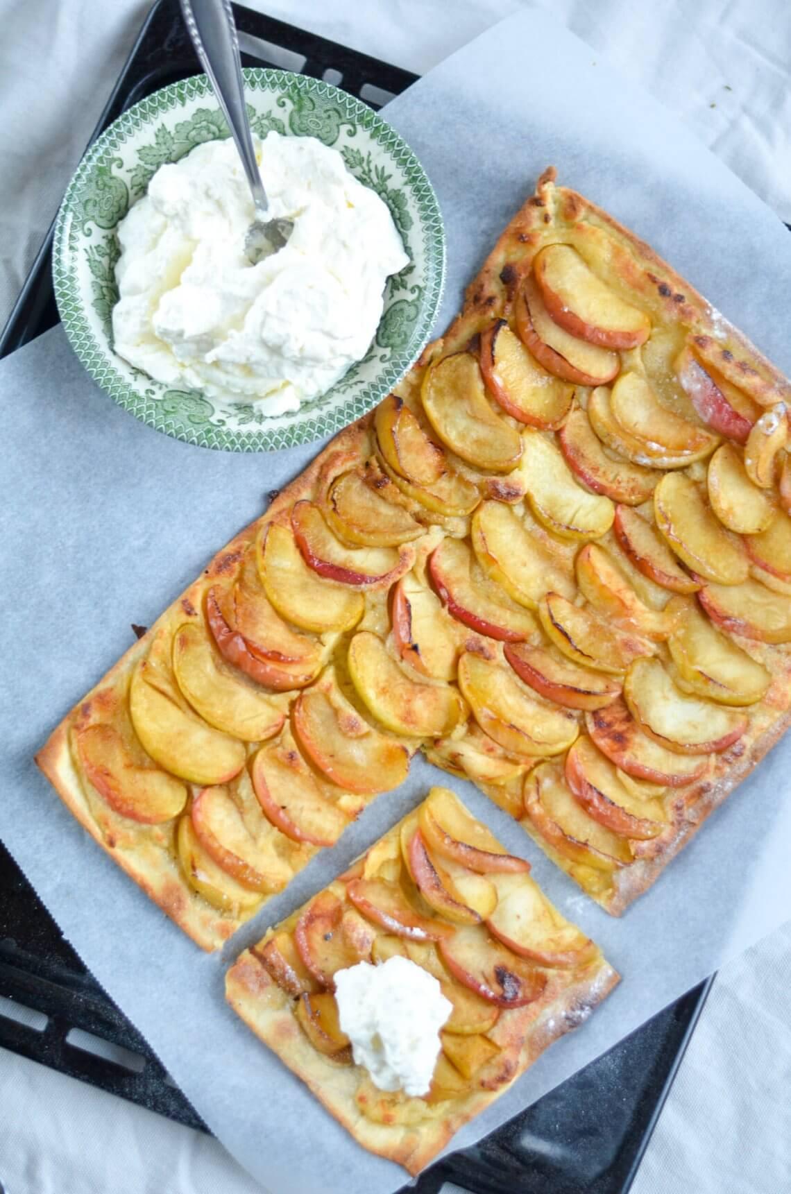 appeltaart flammkuchen