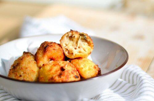 arancini (mozzarellaballetjes)