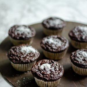 banaan chocola kokos muffins