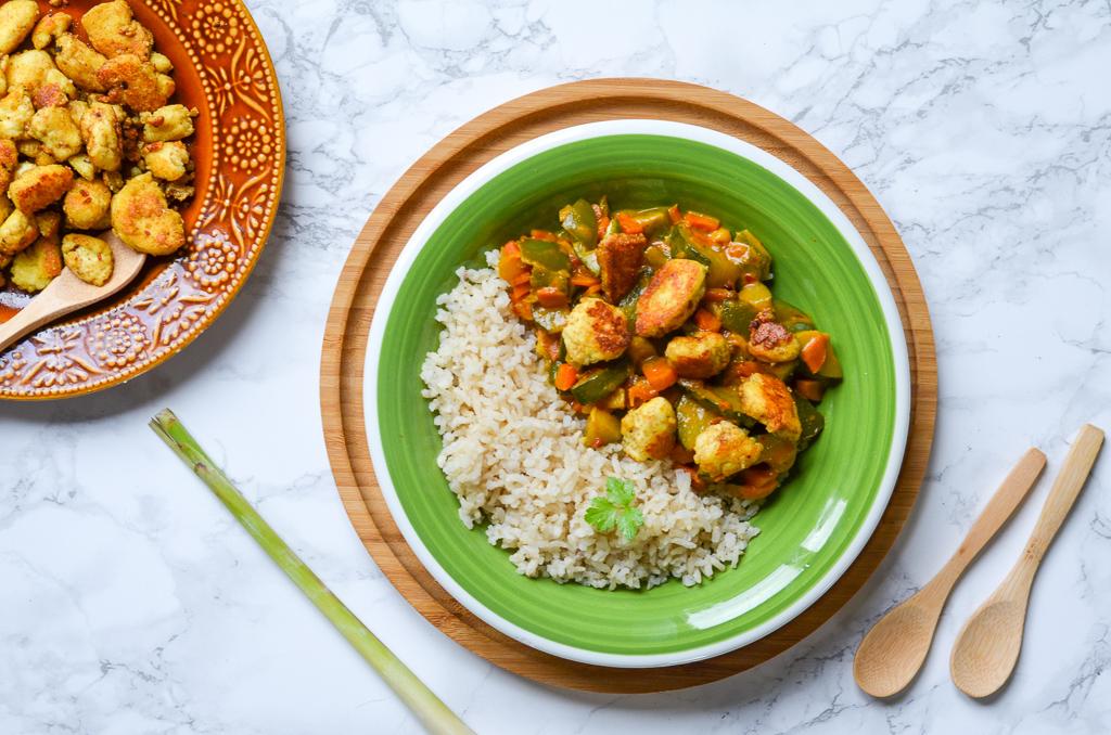 Curry paneer