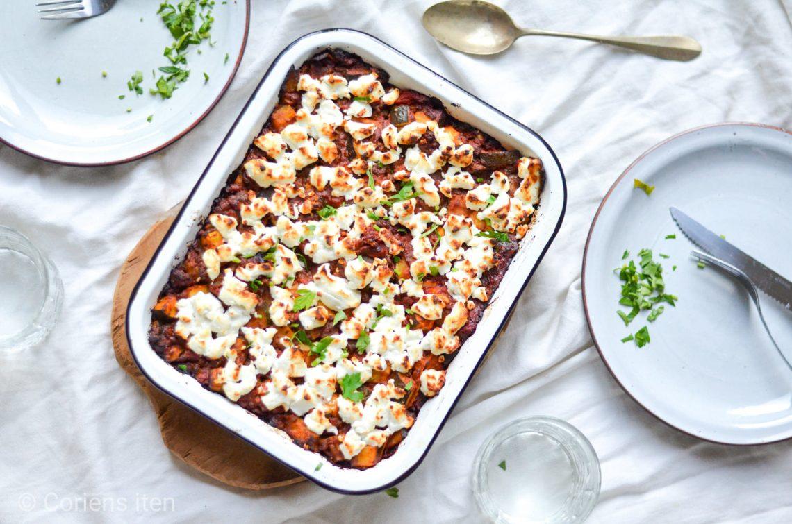 Geitenkaas lasagne