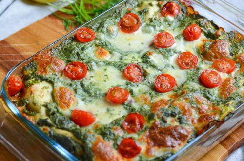 lasagne spinazie zalm