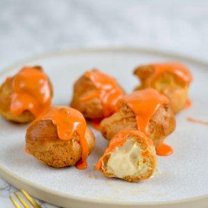 Oranje Soezen met Zwitserse room
