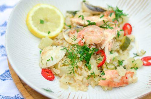 risotto met zeevruchten